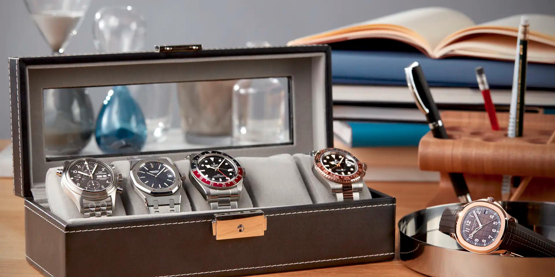 Profitipps für Uhrensammler: So bauen Sie Ihre Kollektion auf