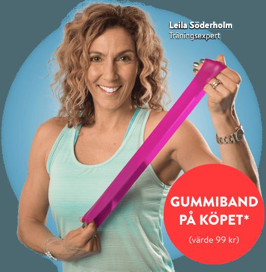 Leila Söderholm, träningsexpert