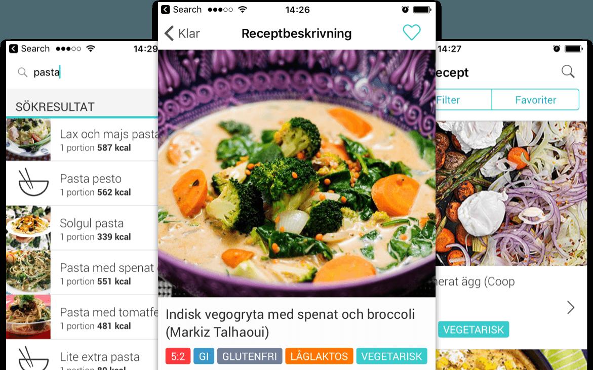 Recipe Start Page