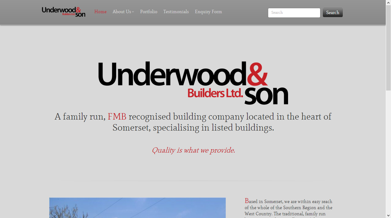 Underwood and Son Builders Ltd