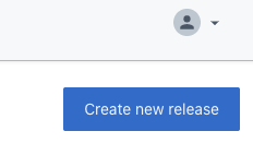 Planner App - Create new release button