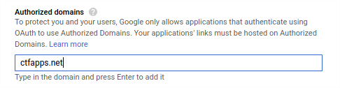 Google Analytics Consent Auth Domain