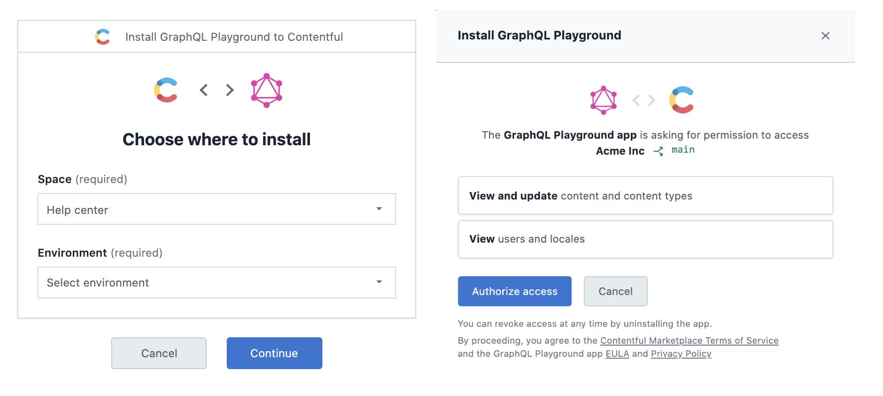 App Installation Flow
