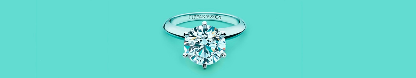 Tiffany & Co.'s banner