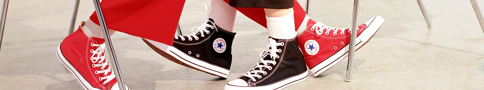 Converse's banner