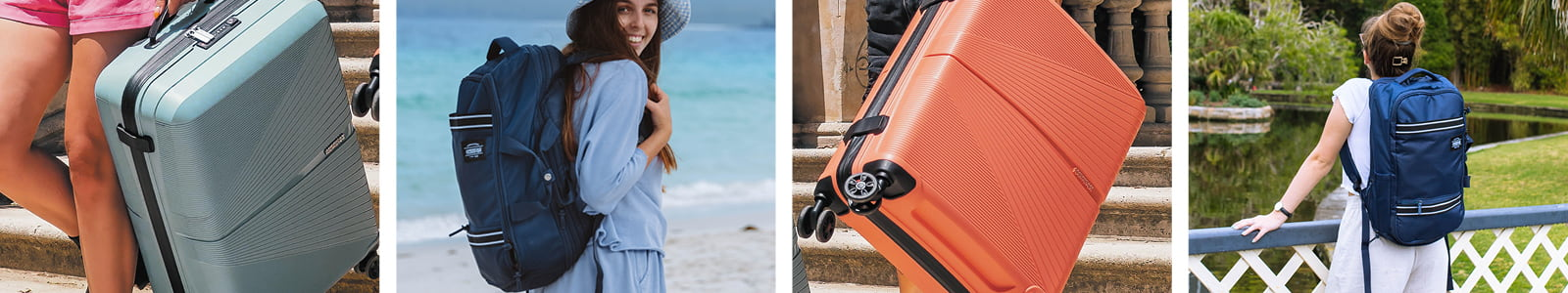 American Tourister's banner