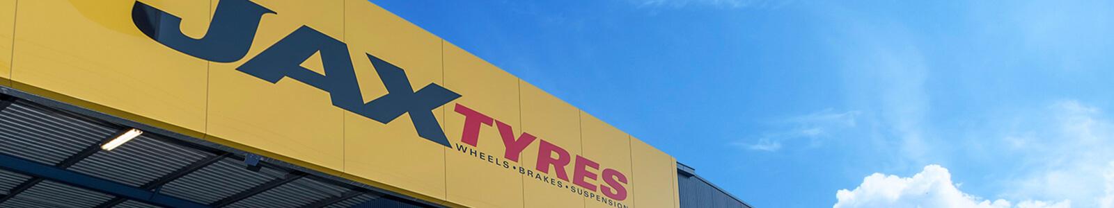 JAX Tyres's banner