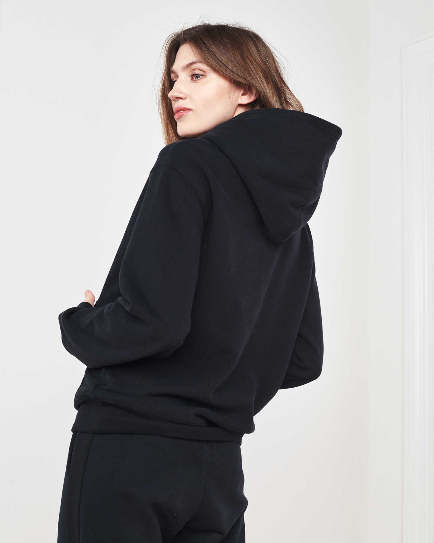 Organic Heavyweight Boyfriend Hoodie - undefined - 4 - Thumbnail