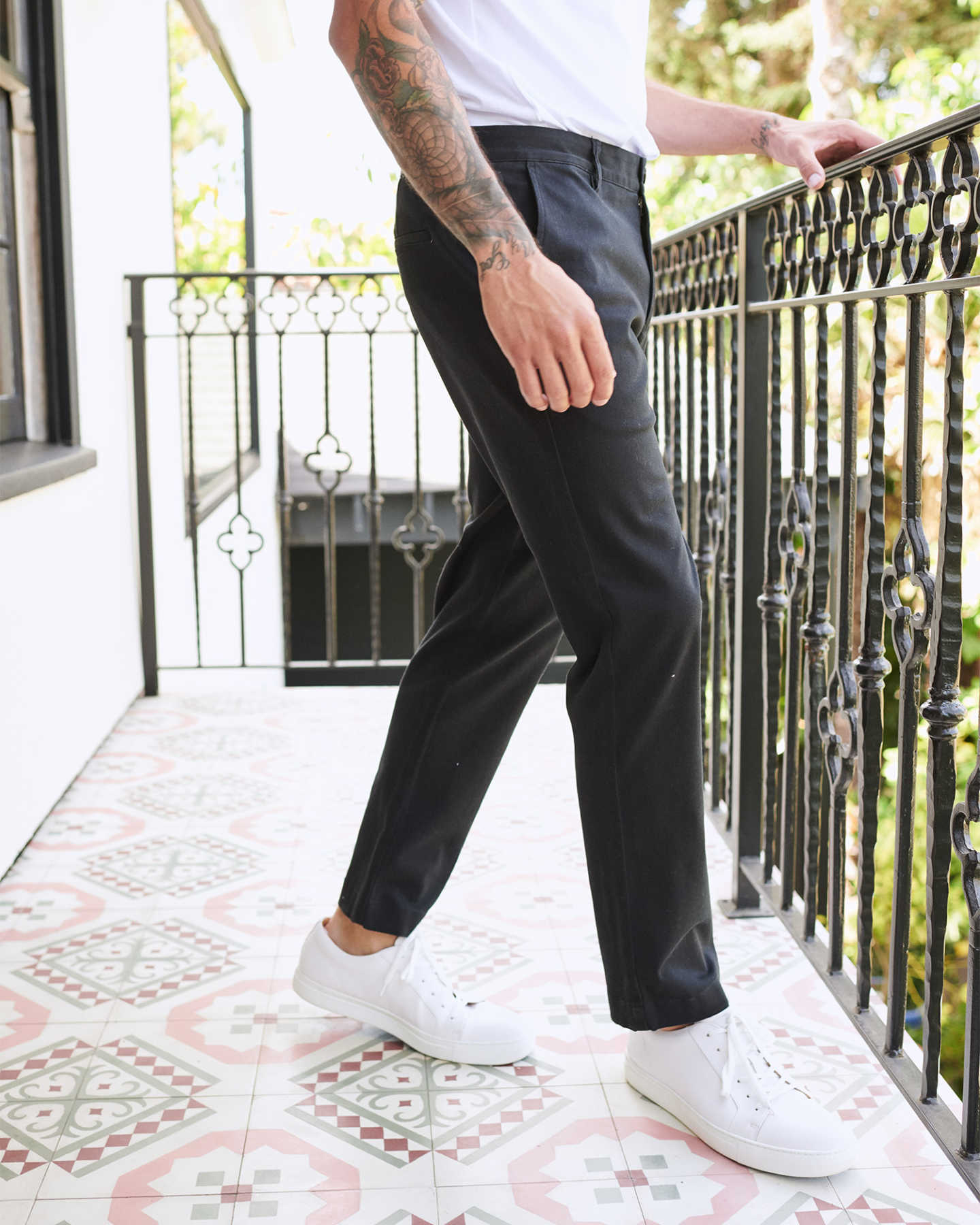 You May Also Like - Organic Activeflex™ Chino - Slim Fit - Black