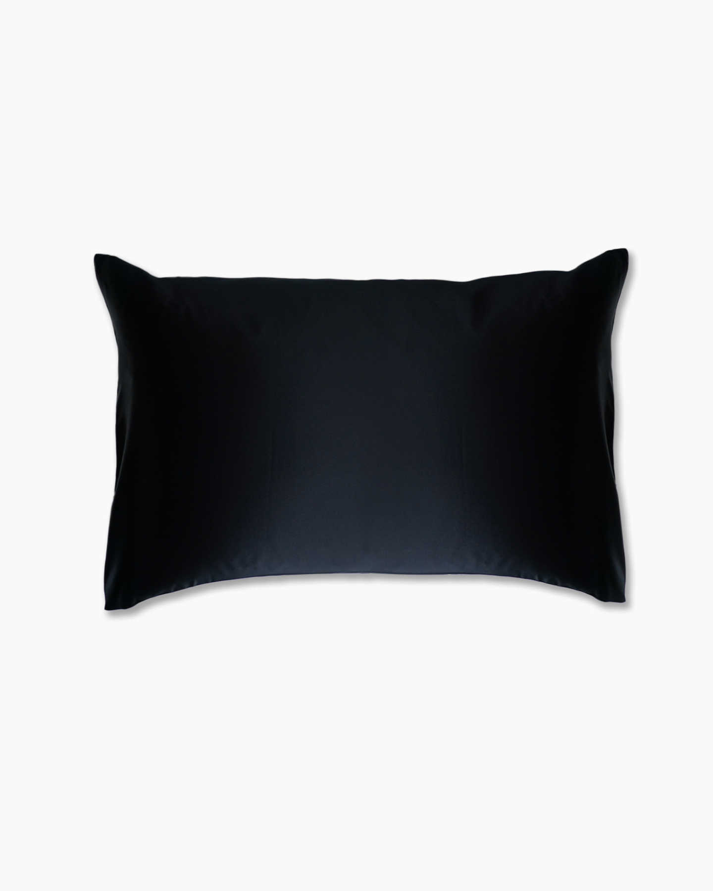 Mulberry silk pillowcase in black