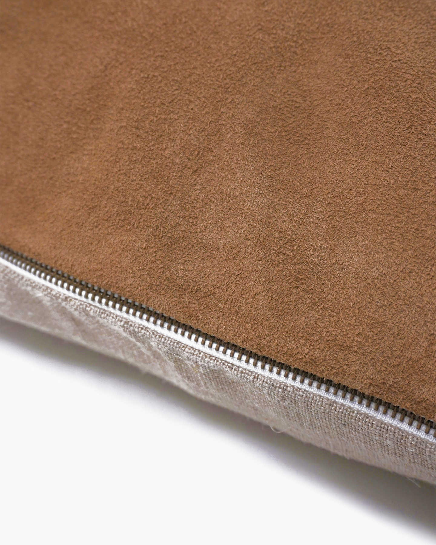 Premium Suede Pillow Cover - Camel - 1