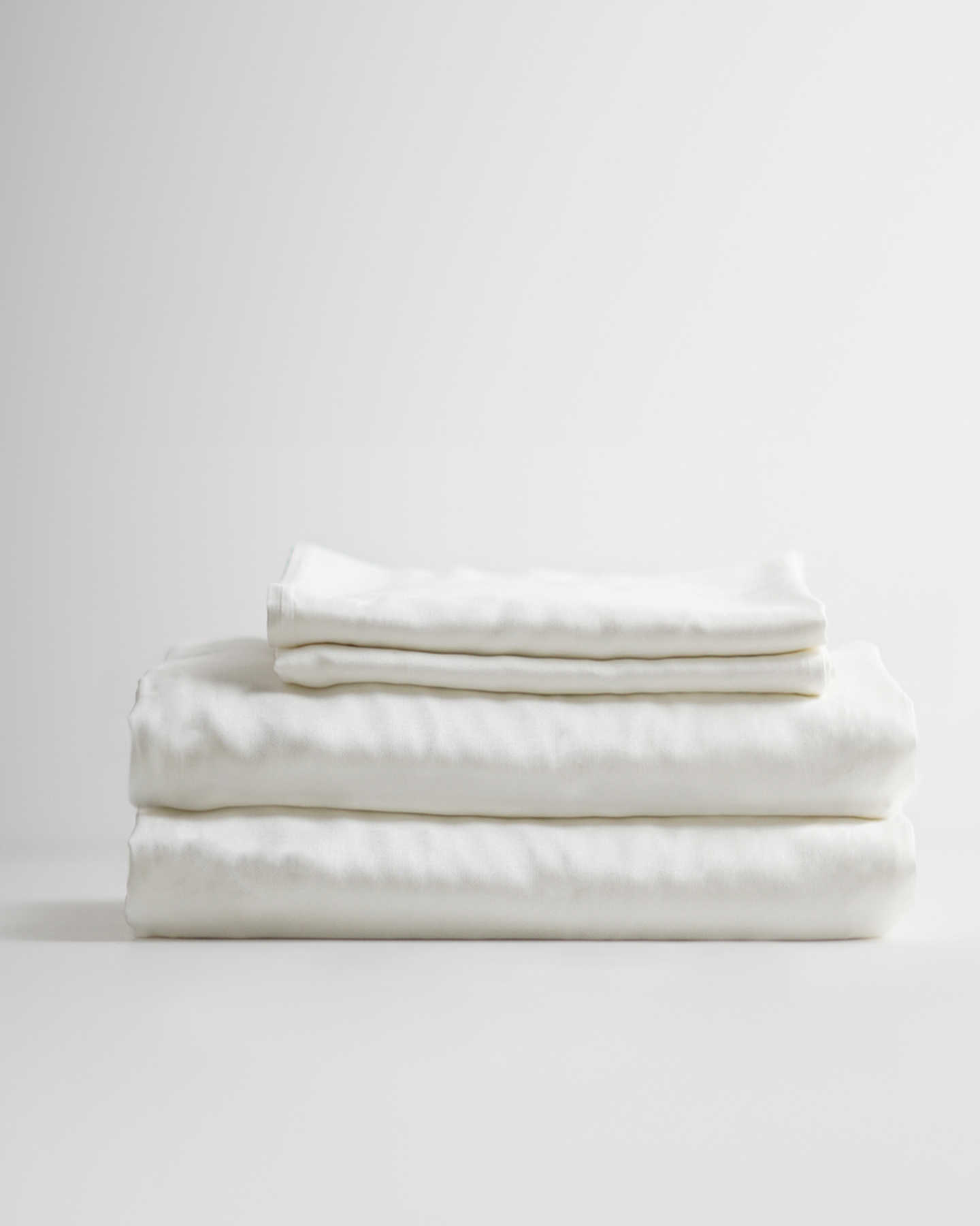 Organic Bamboo Lyocell Sheet Set - White