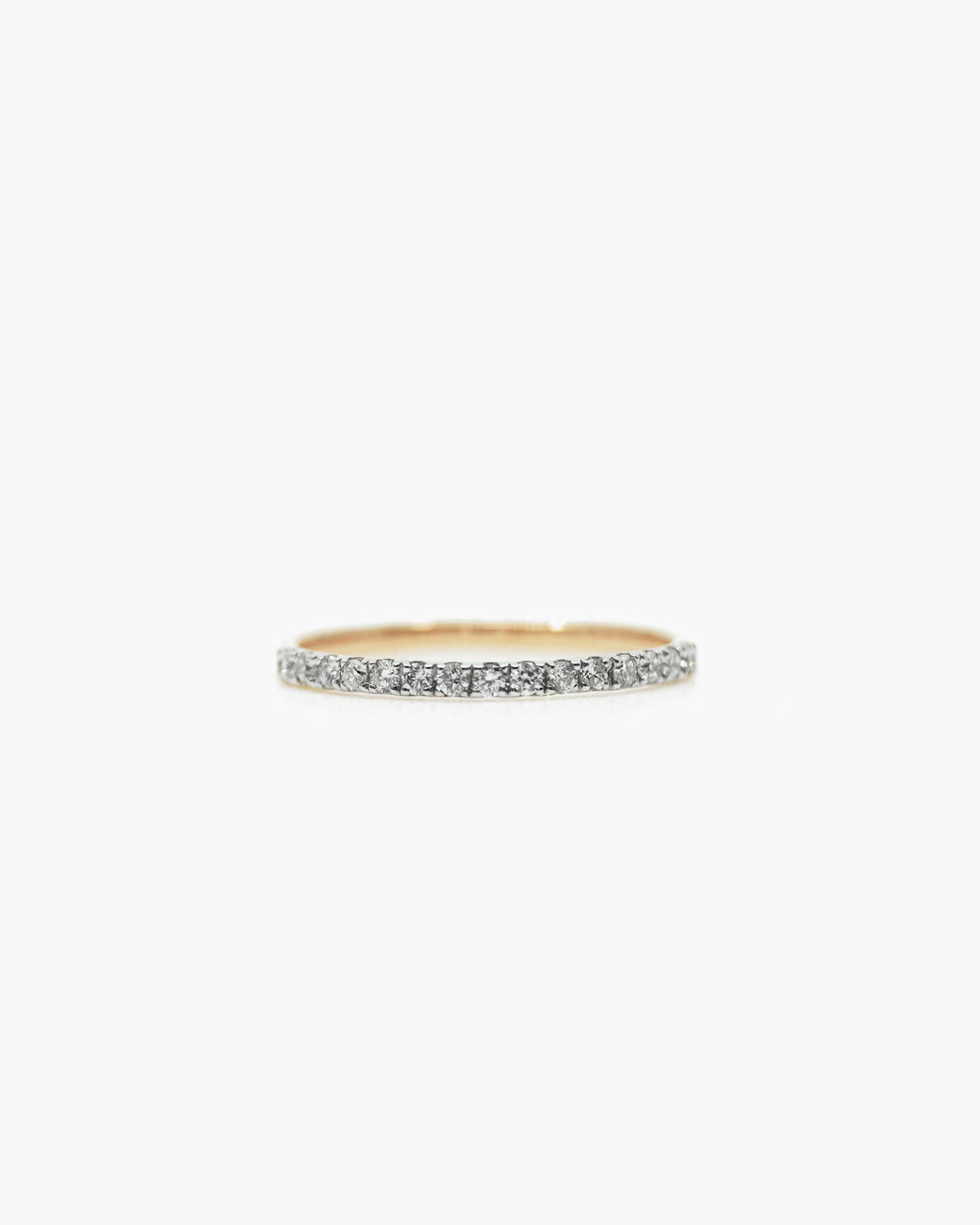 Diamond Wedding Band - Yellow Gold