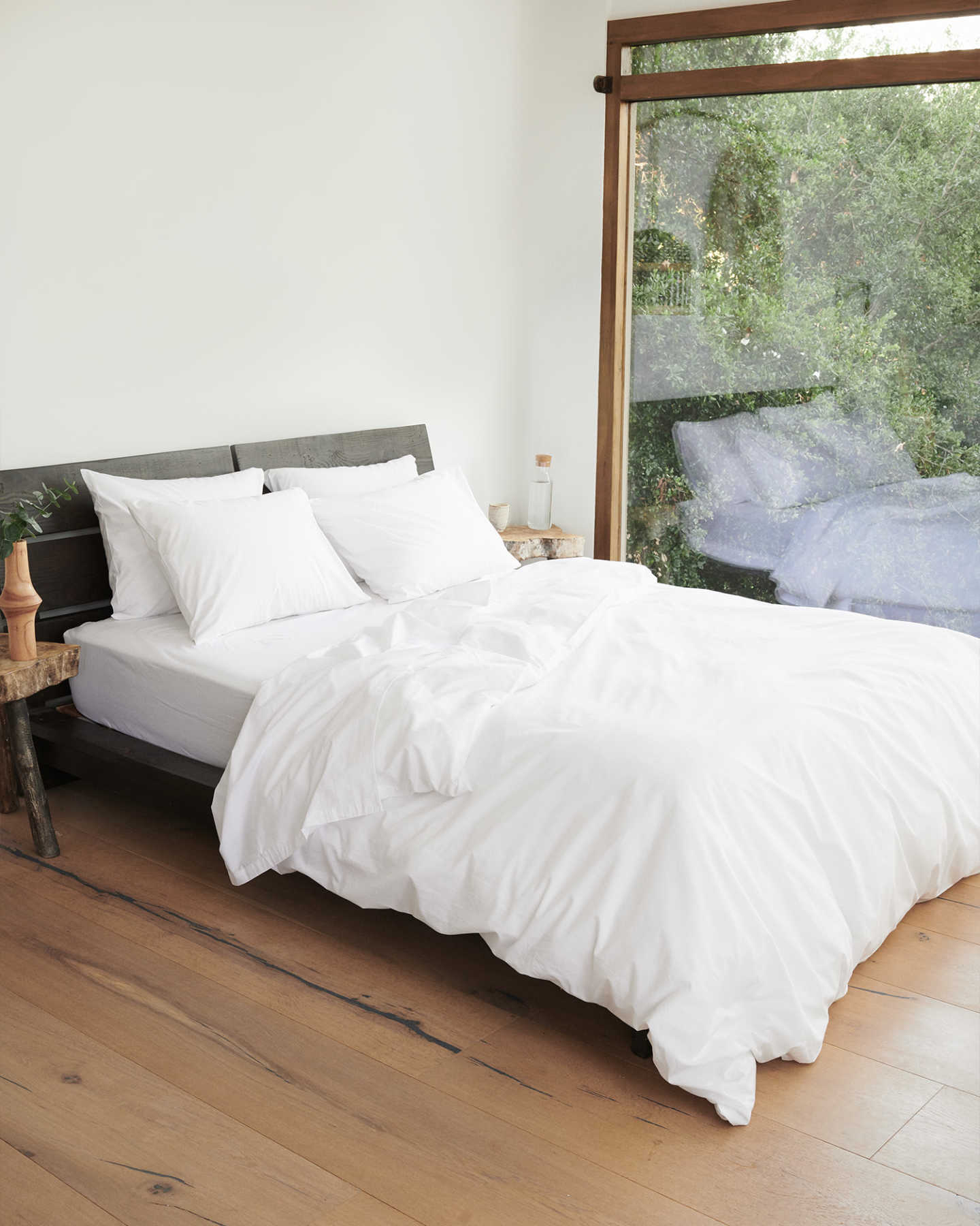 You May Also Like - Organic Percale Luxe Duvet Cover - White