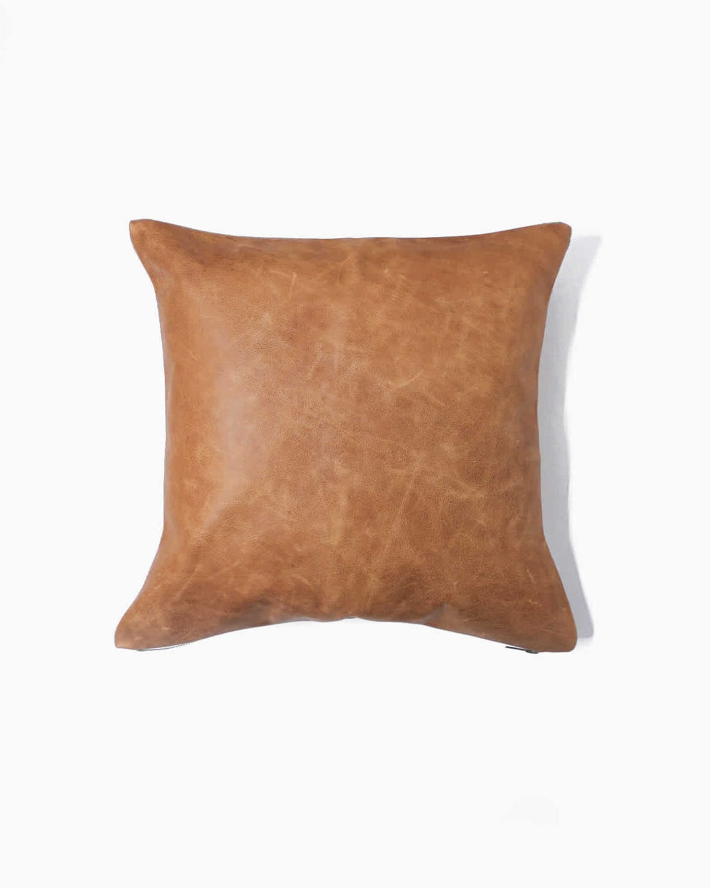 Pair With - Luxe Leather Pillow Cover  - Coco