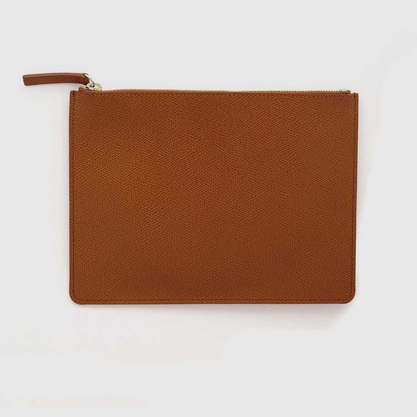 Embossed Leather Pouch - 12262241763439