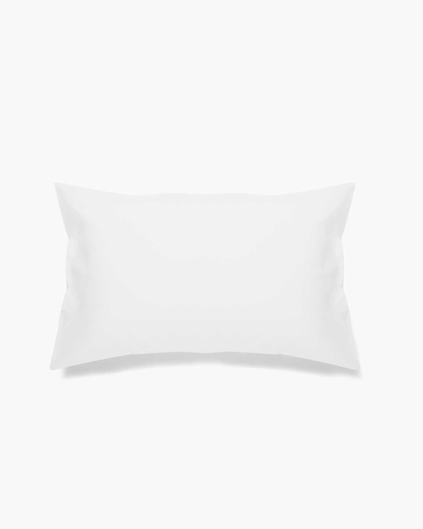 Organic Percale Luxe Pillowcases - White