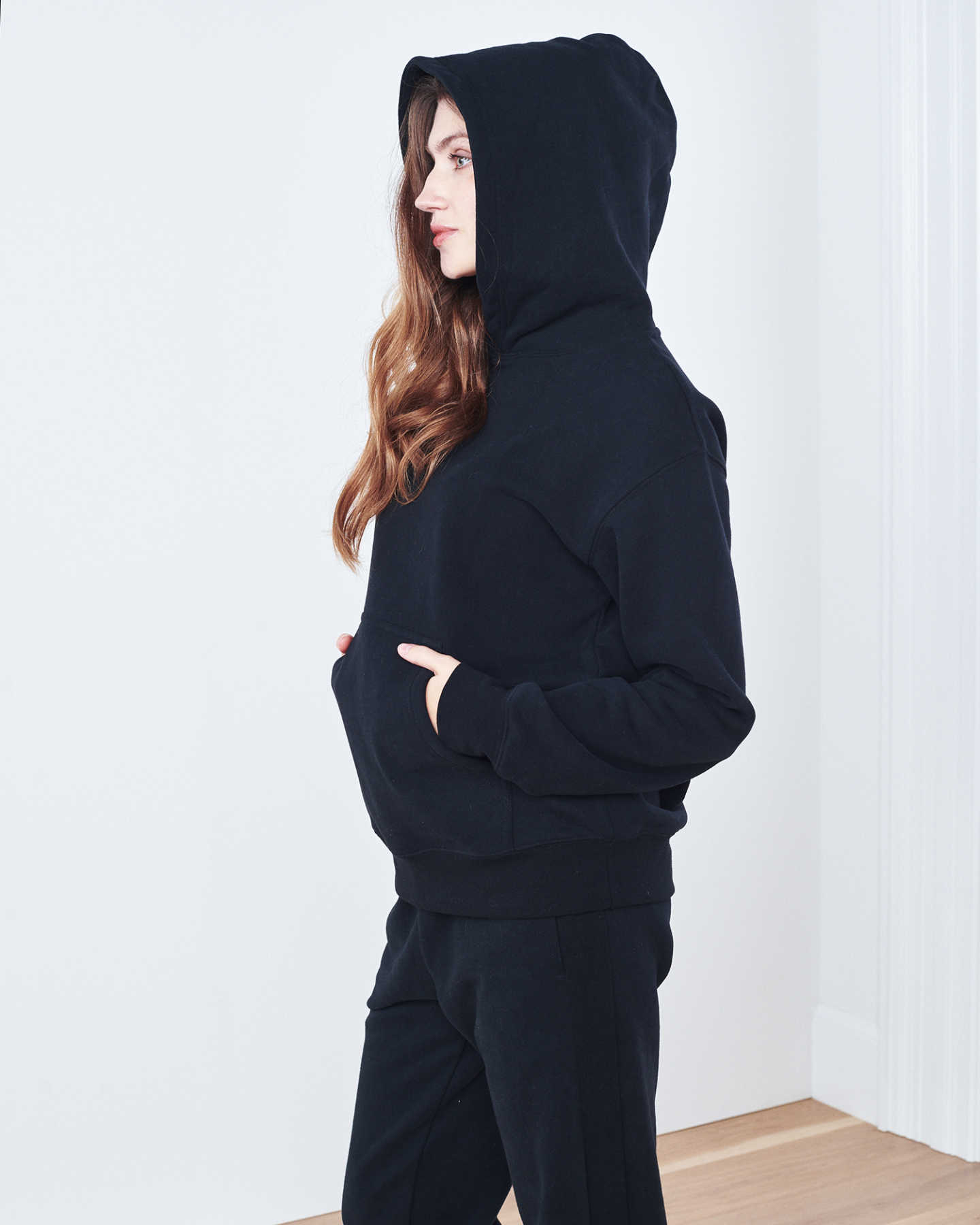Organic Heavyweight Boyfriend Hoodie - undefined - 2 - Thumbnail