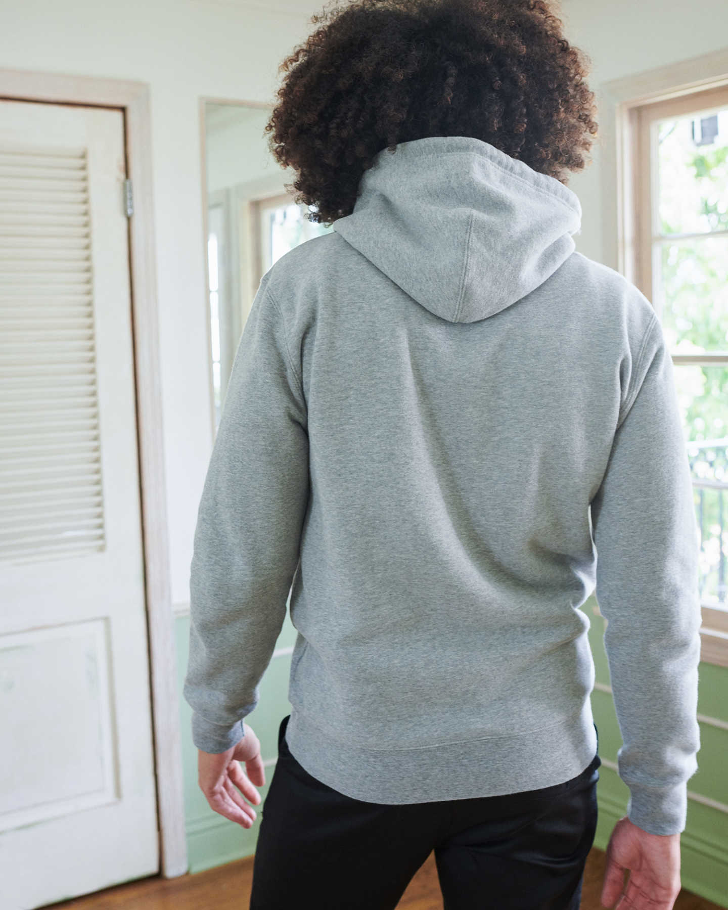 Organic Heavyweight Fleece Hoodie - undefined - 2