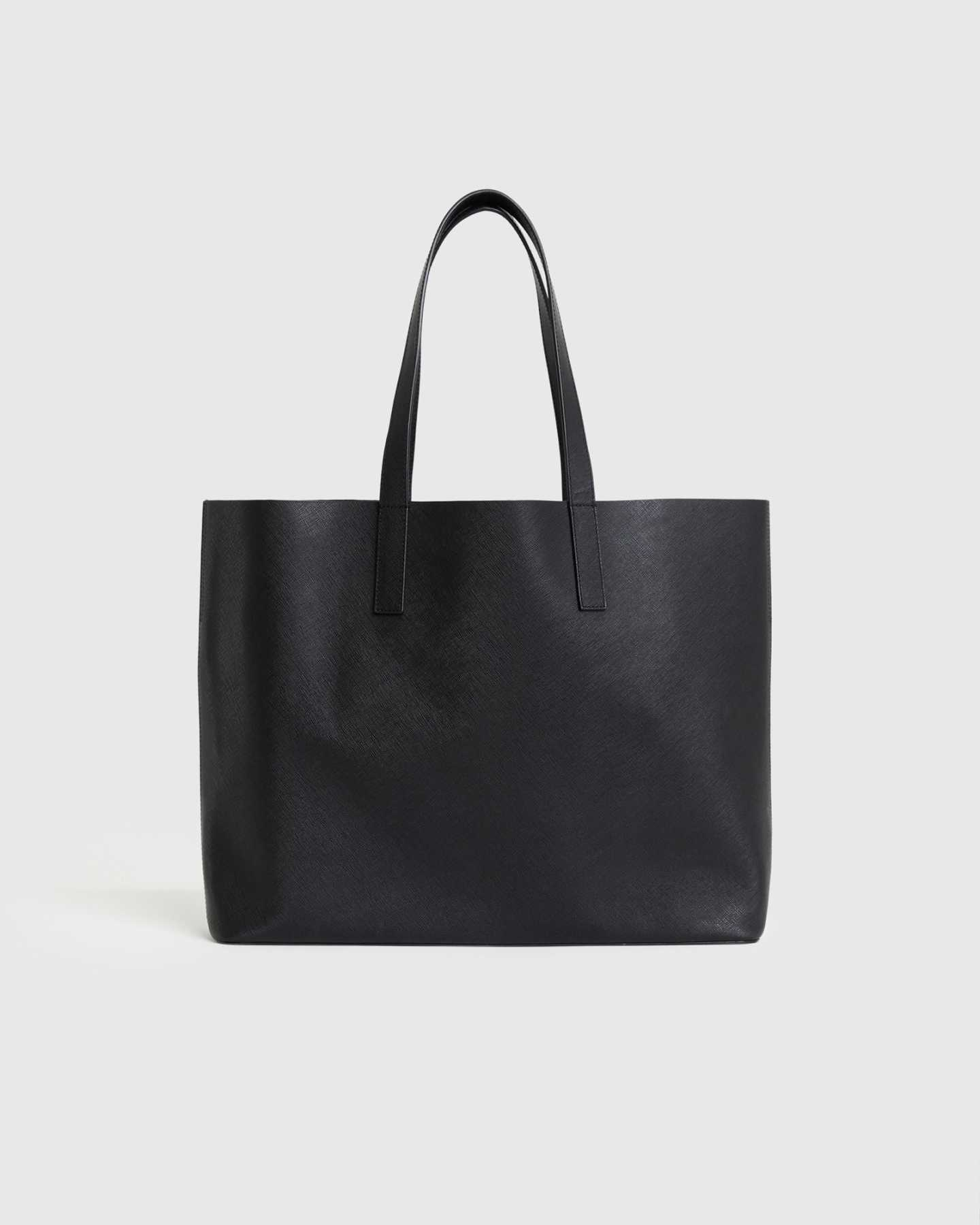 Deconstructed Everyday Tote - Black