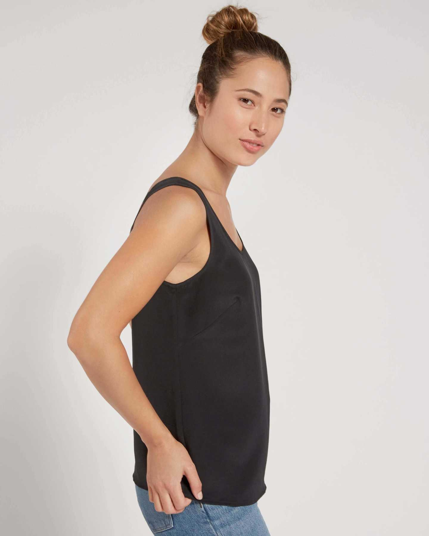 Premium Washable Silk Tank - undefined - 1