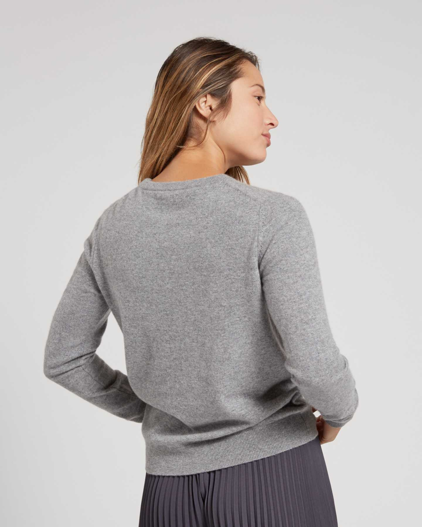 Mongolian Cashmere Crew - undefined - 8