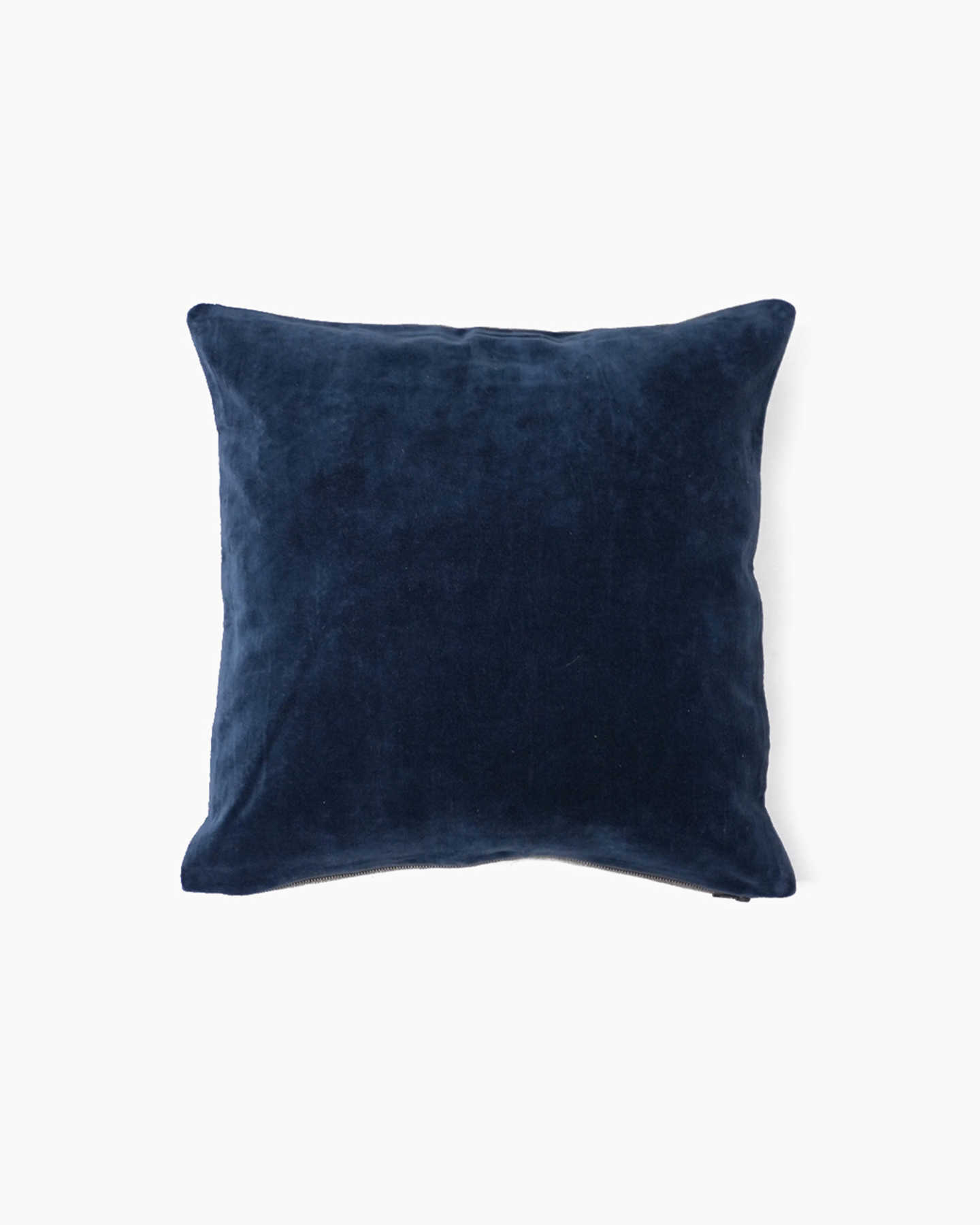 Plush Velvet Pillow Cover  - Navy - 0