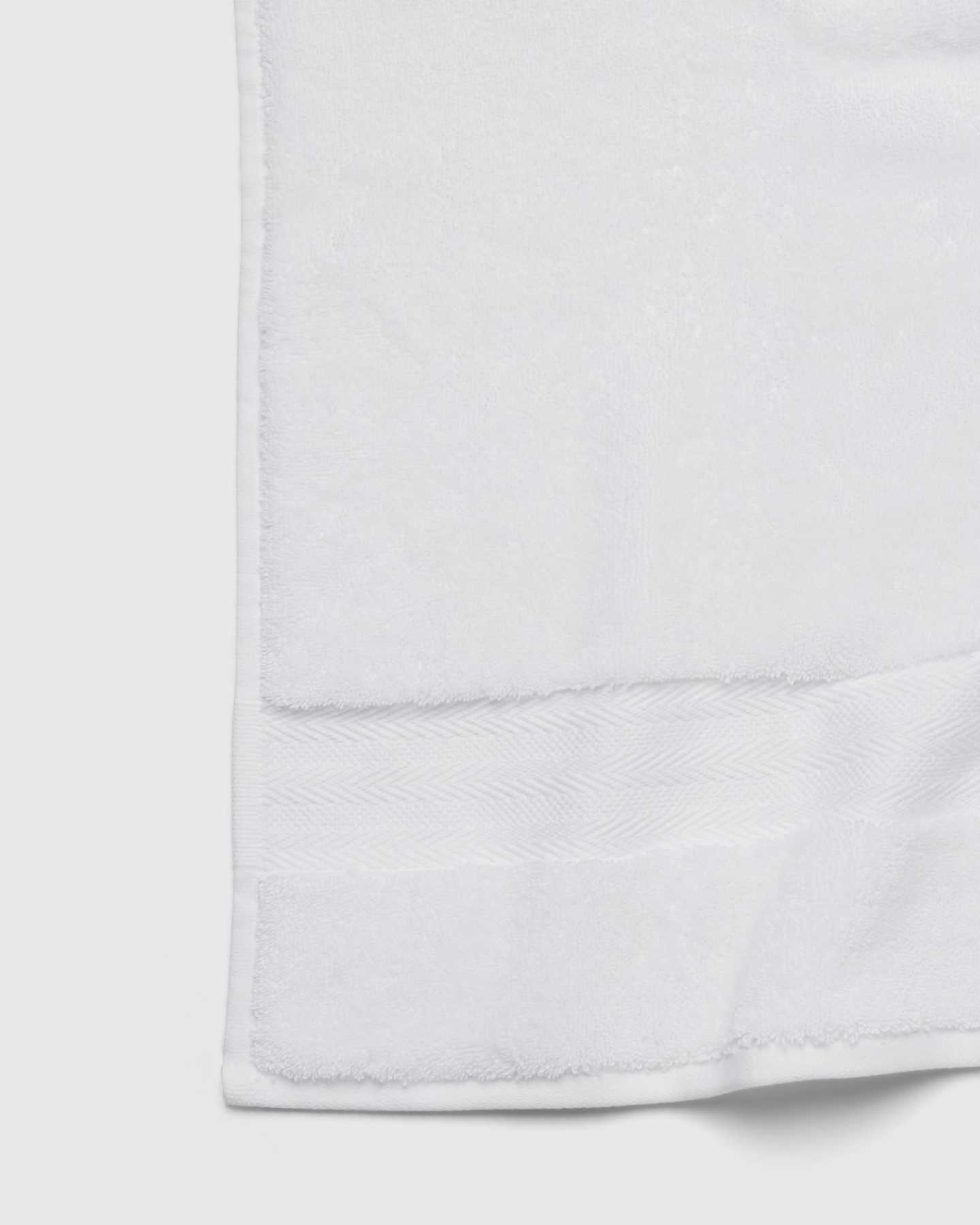 Organic Turkish Spa Bath Towels (Set of 2) - White - 5