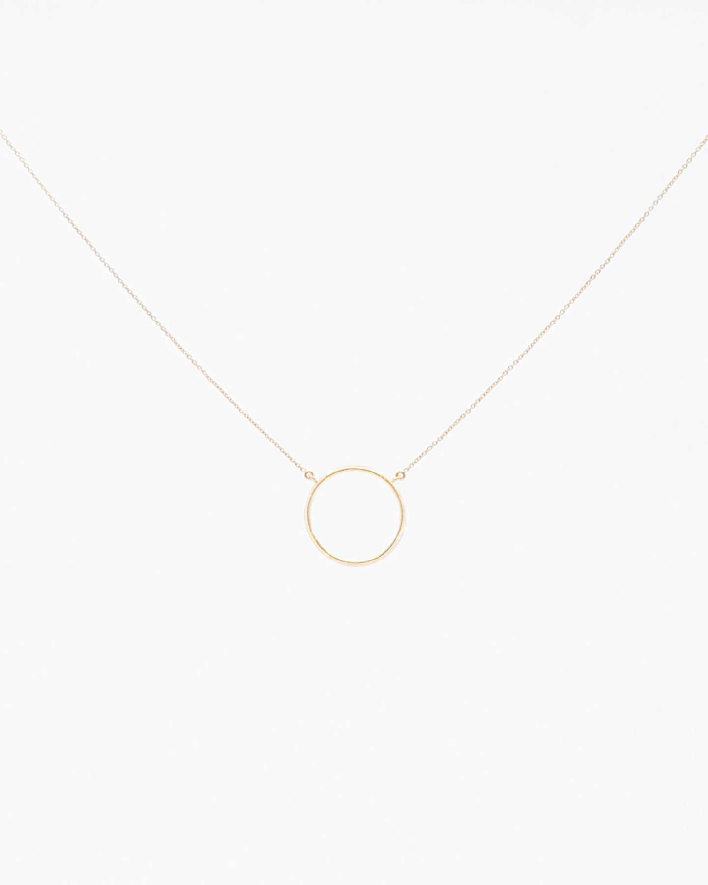 Eternity Necklace - Gold Vermeil