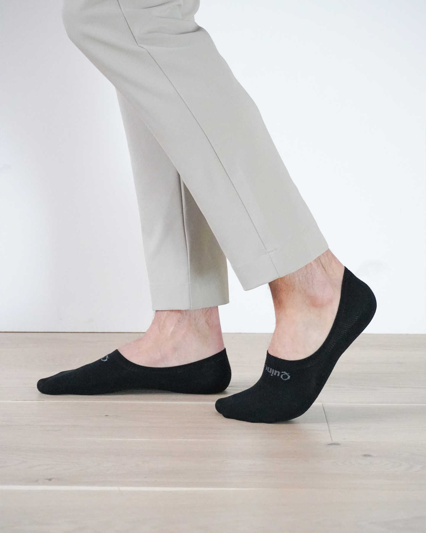 Organic No-Show Sock - Black - 2 - Thumbnail