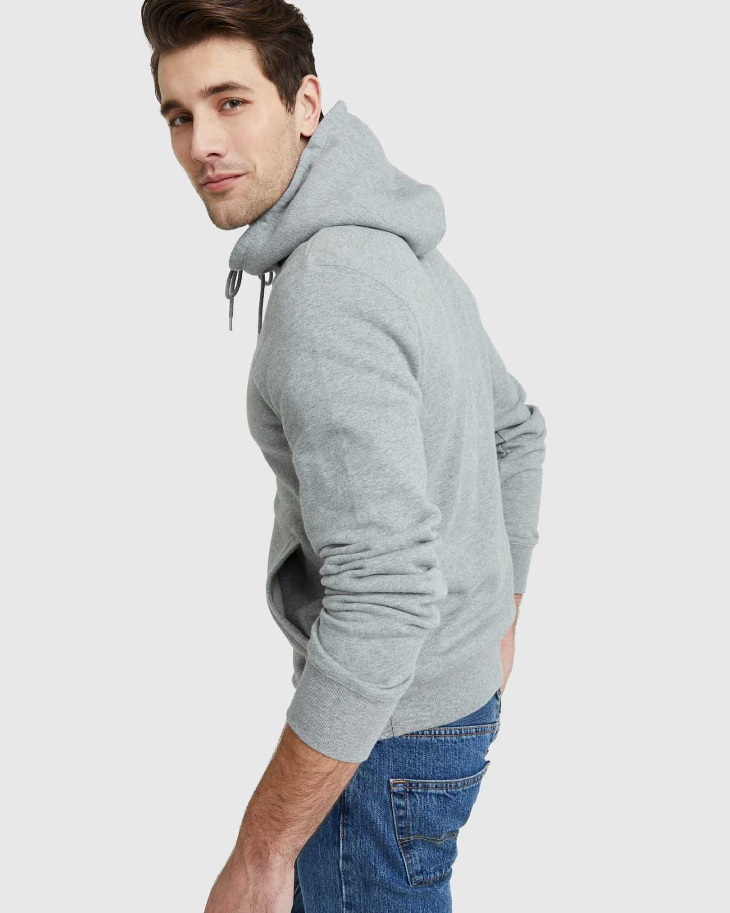 Organic Heavyweight Fleece Hoodie - undefined - 8