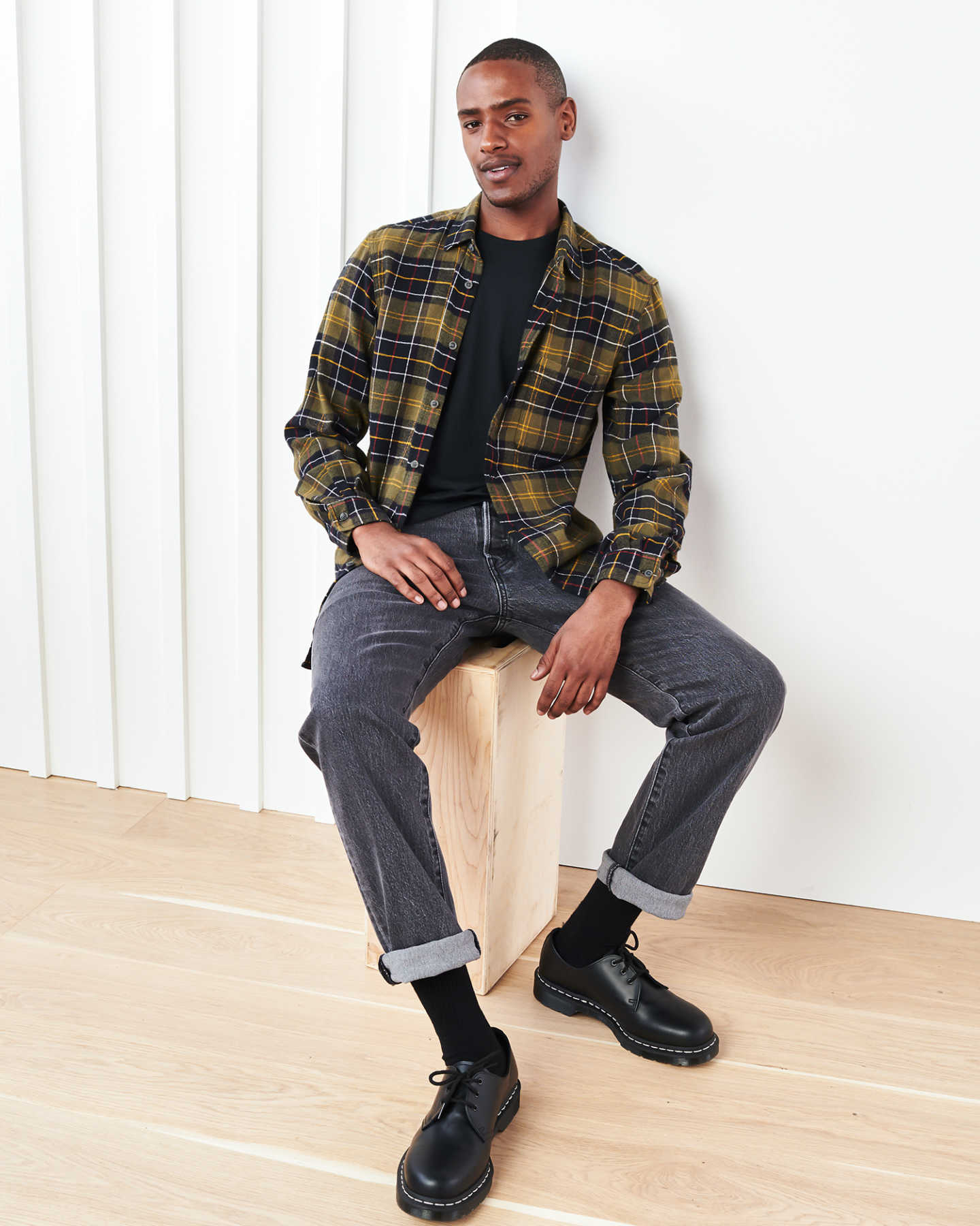 Soft Brushed Plaid Flannel Shirt - undefined - 1