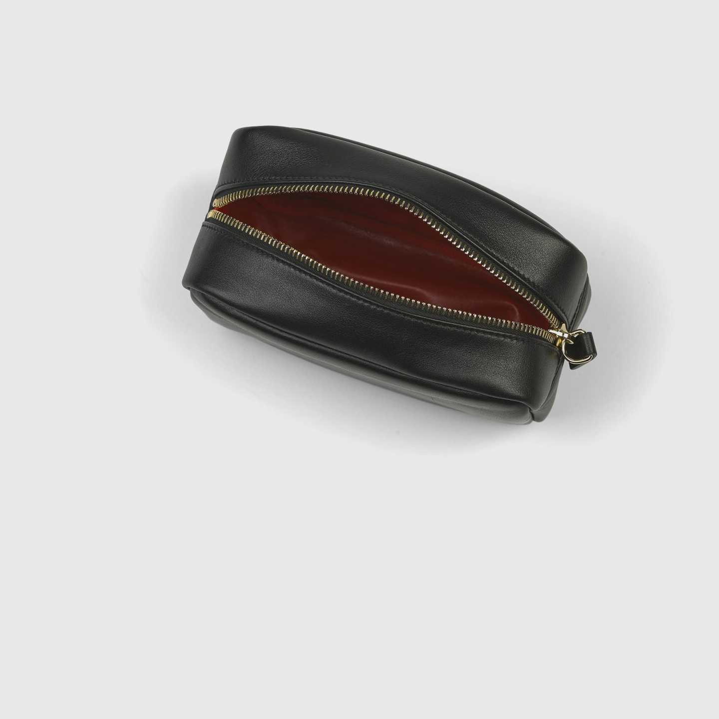 Leather Tech Pouch - 12262252511343