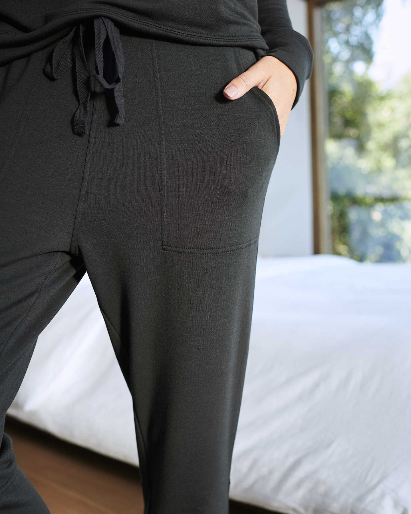 SuperSoft Fleece Pants - Black - 3