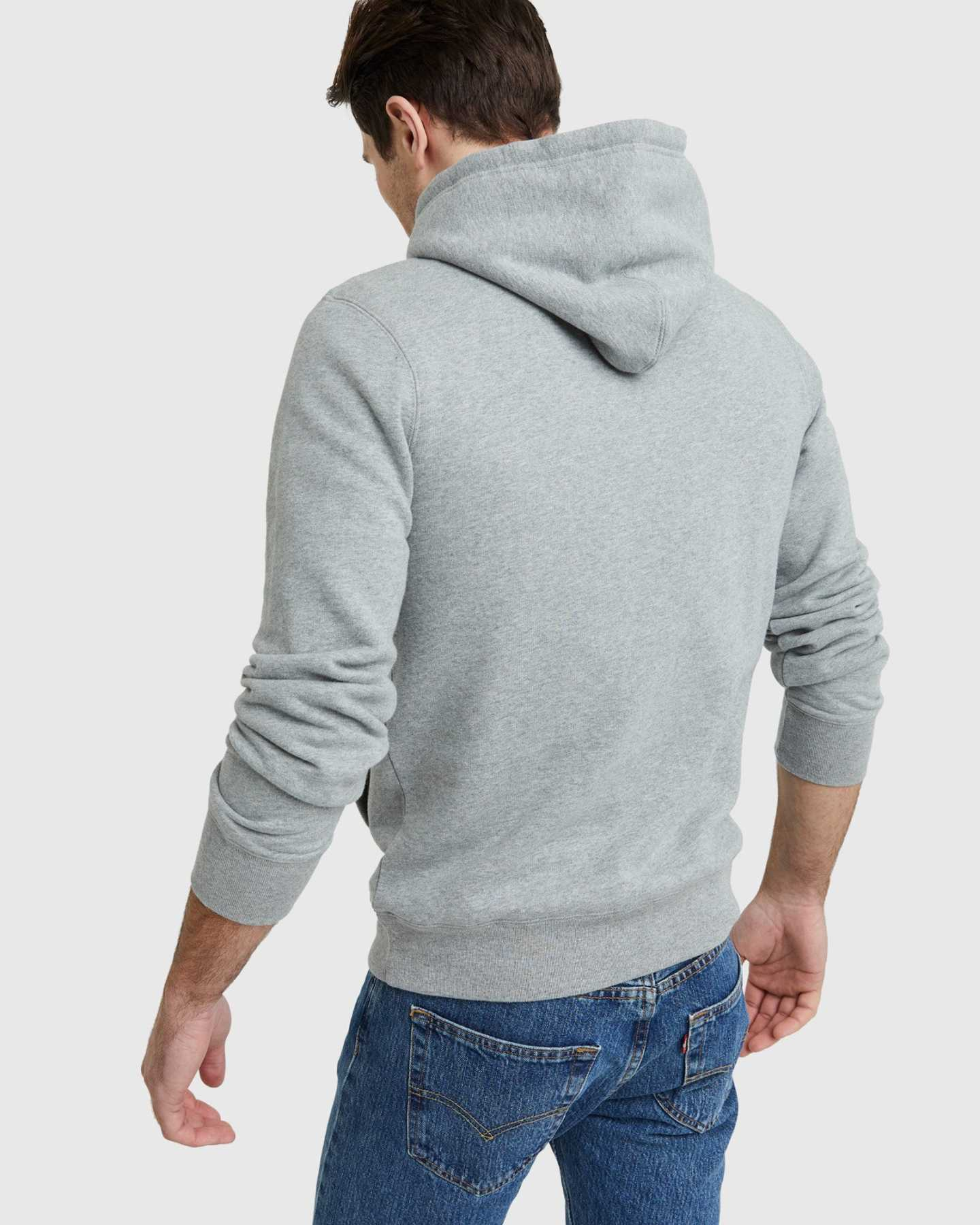 Organic Heavyweight Fleece Hoodie - undefined - 9