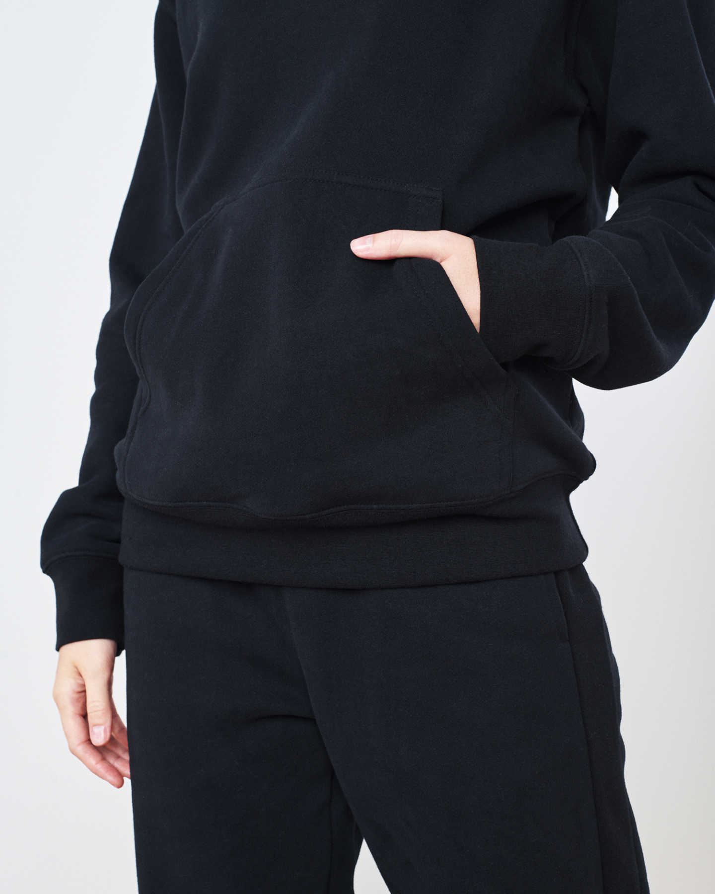 Organic Heavyweight Boyfriend Hoodie - undefined - 5 - Thumbnail