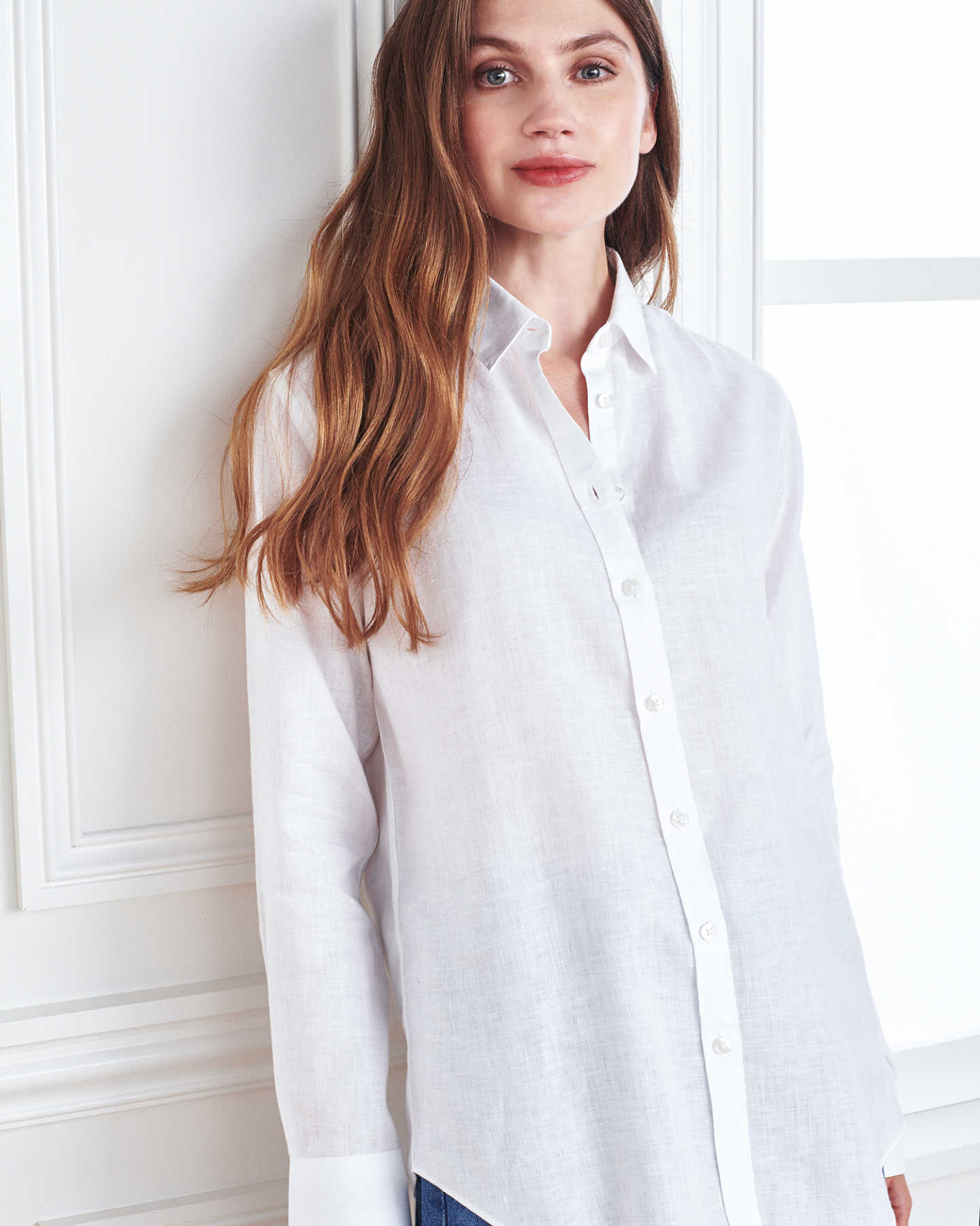 linen shirt women white 4
