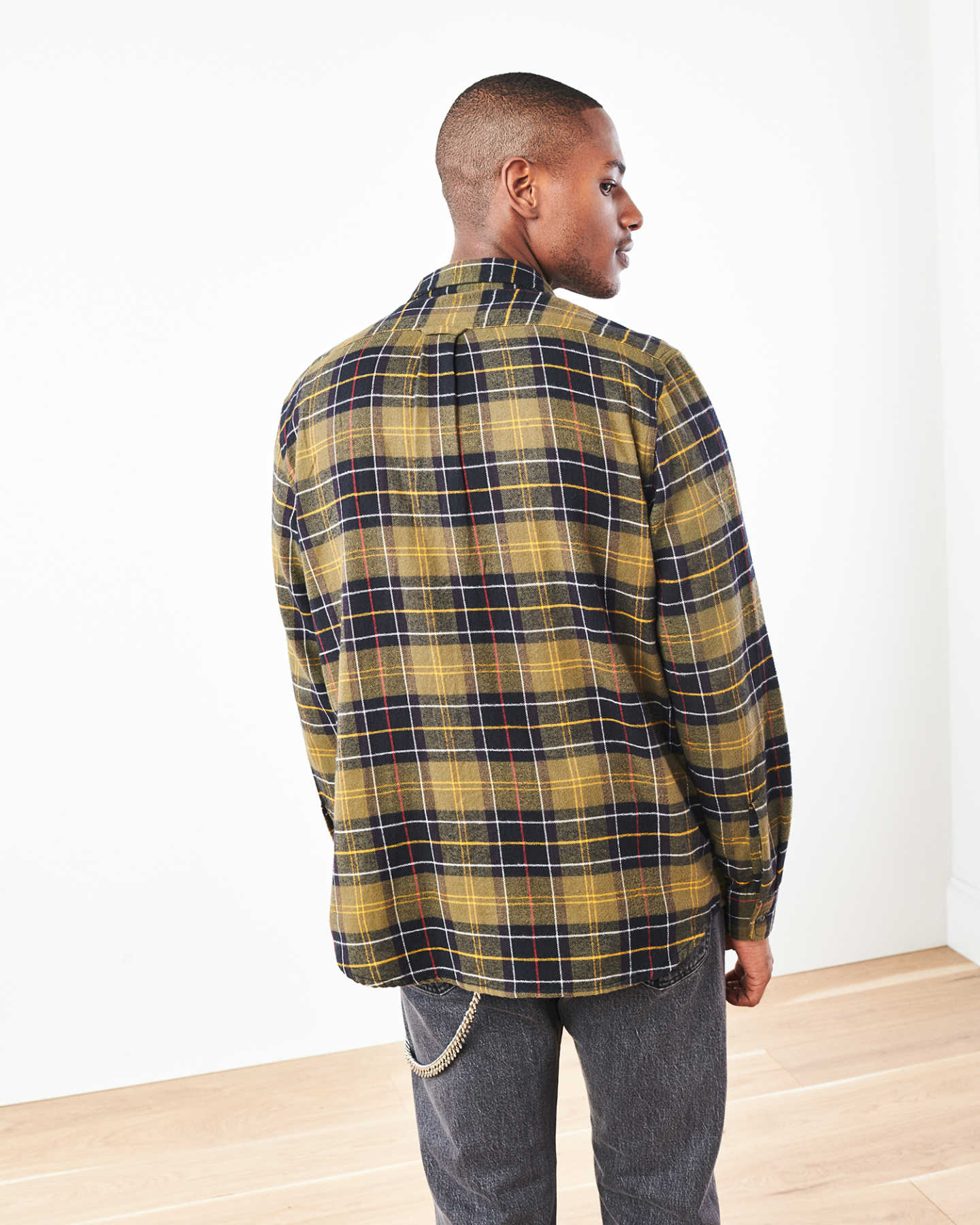 Soft Brushed Plaid Flannel Shirt - undefined - 4