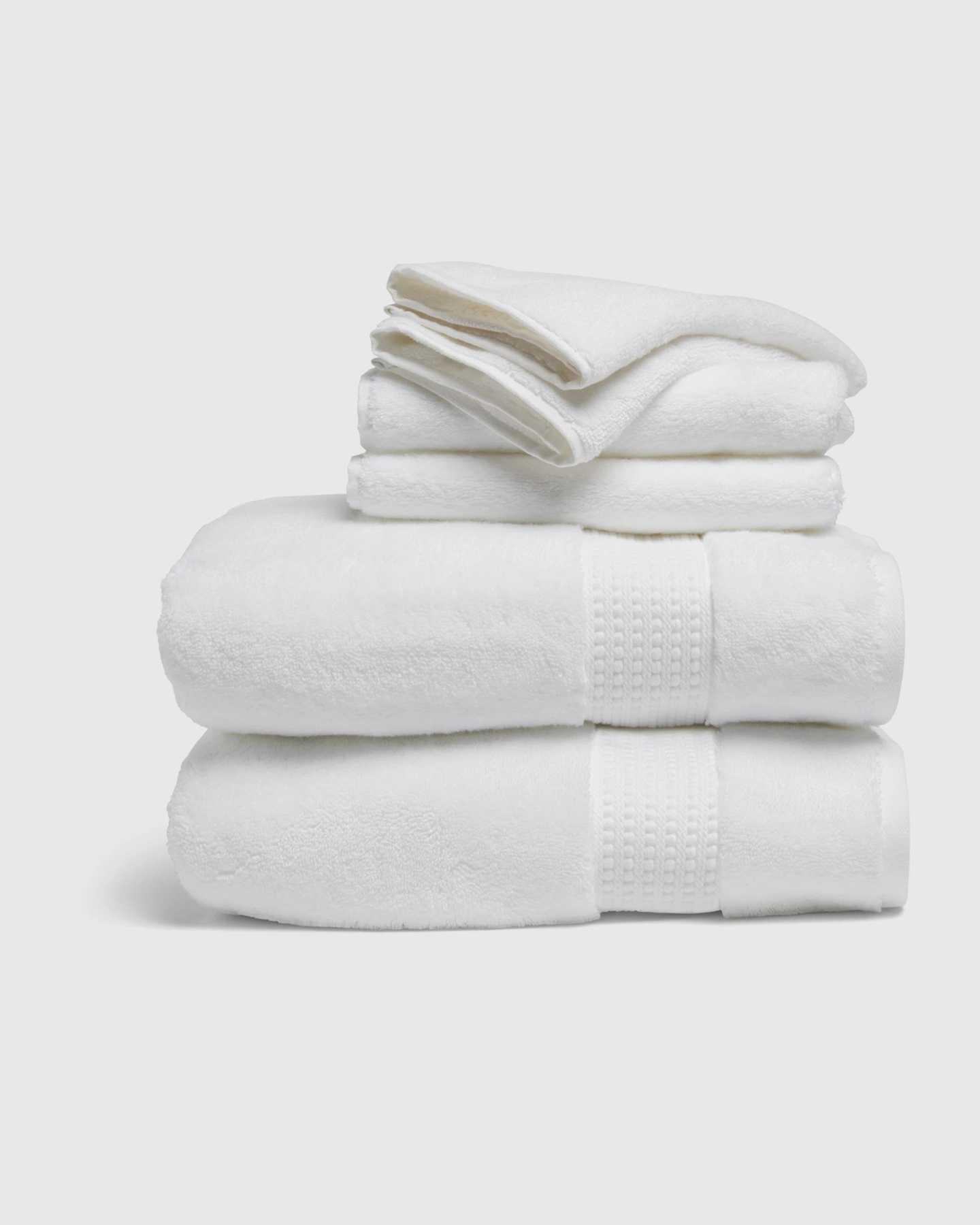 Turkish Quick-Dry Towel Bundle - White