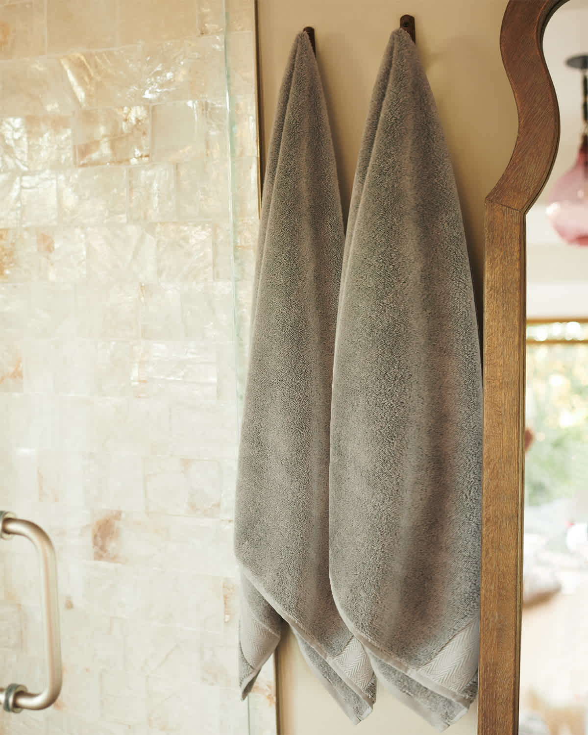 Organic Turkish Spa Bath Towels (Set of 2) - Grey