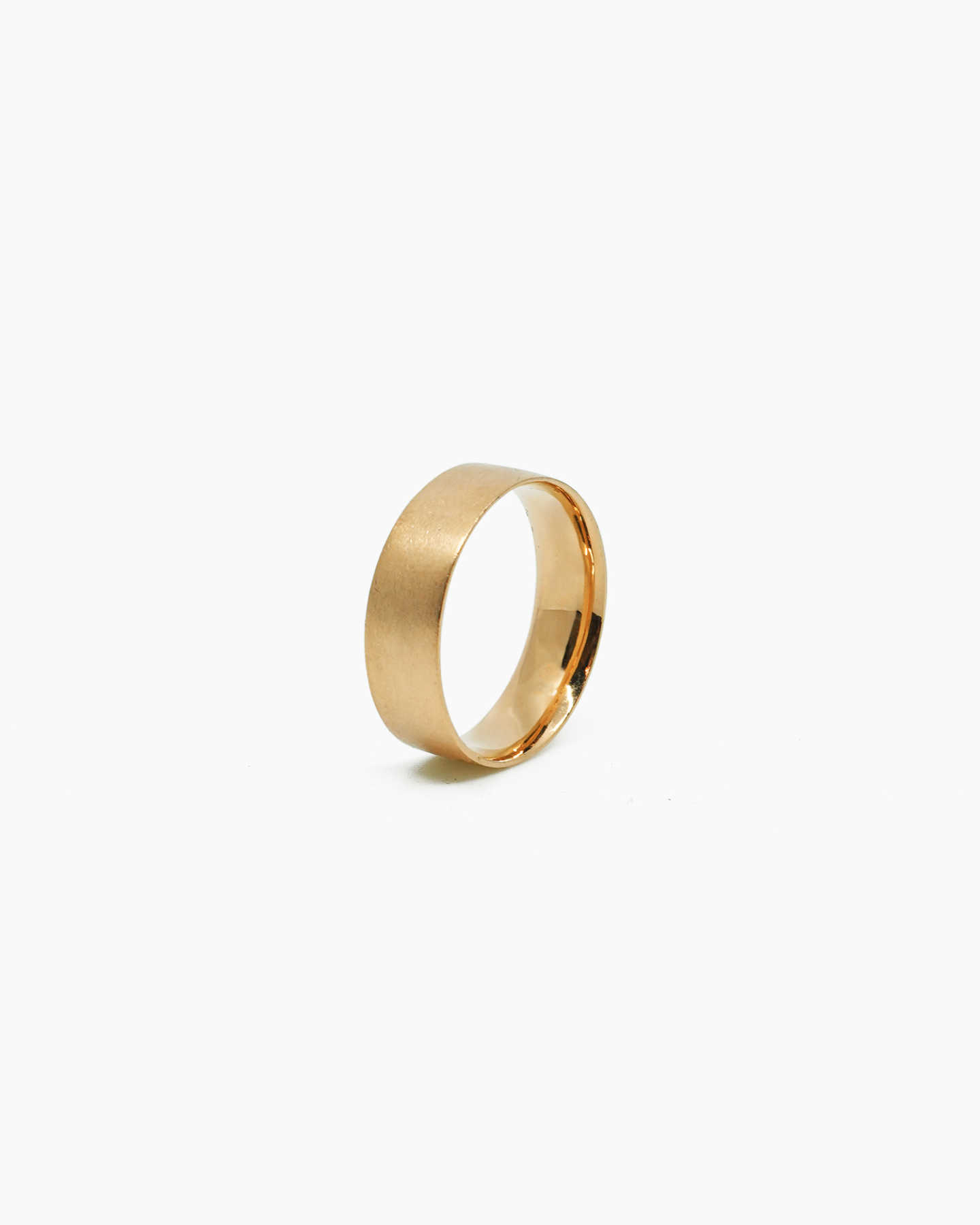Wide Band - Gold Vermeil