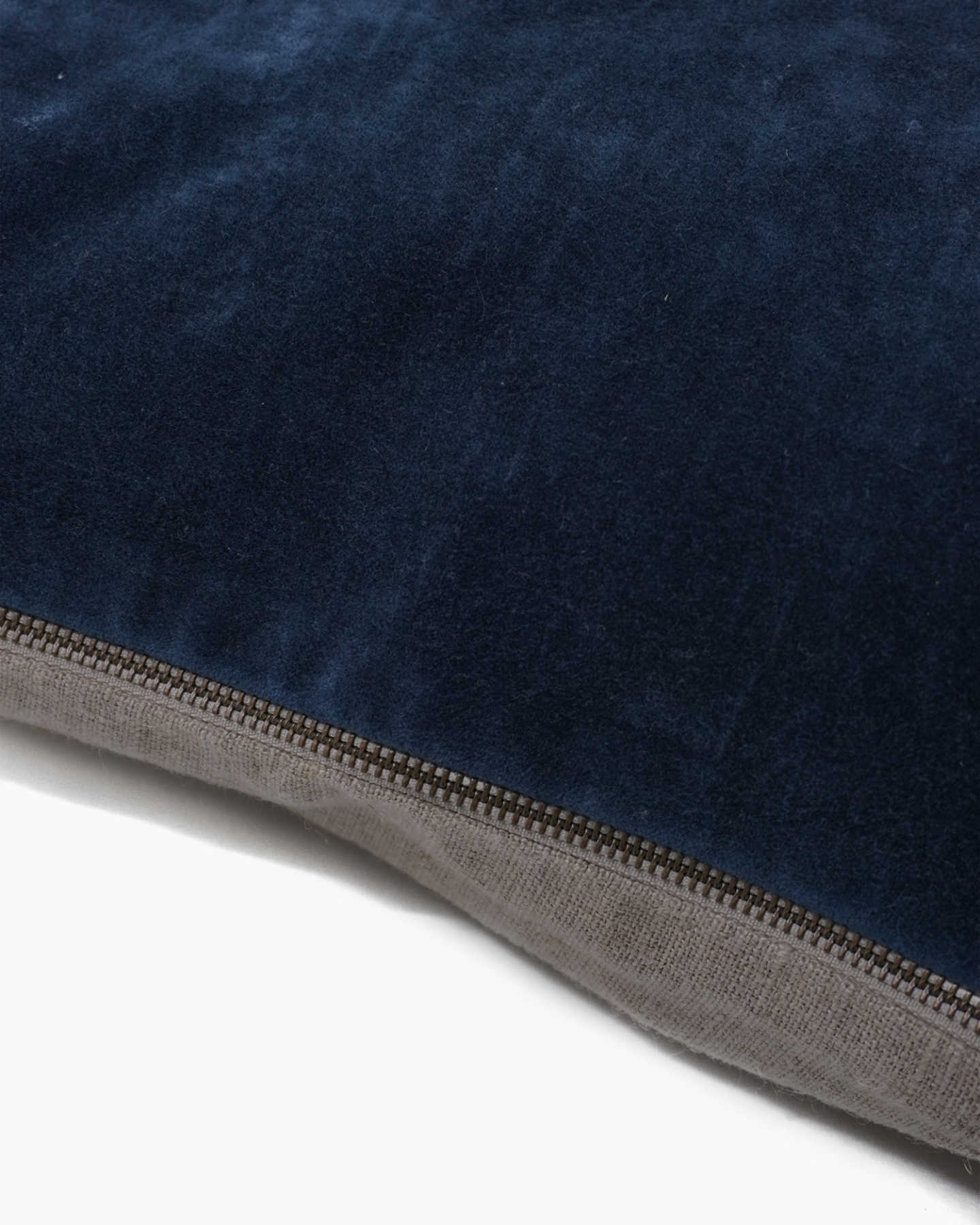 Plush Velvet Pillow Cover  - Navy - 1 - Thumbnail