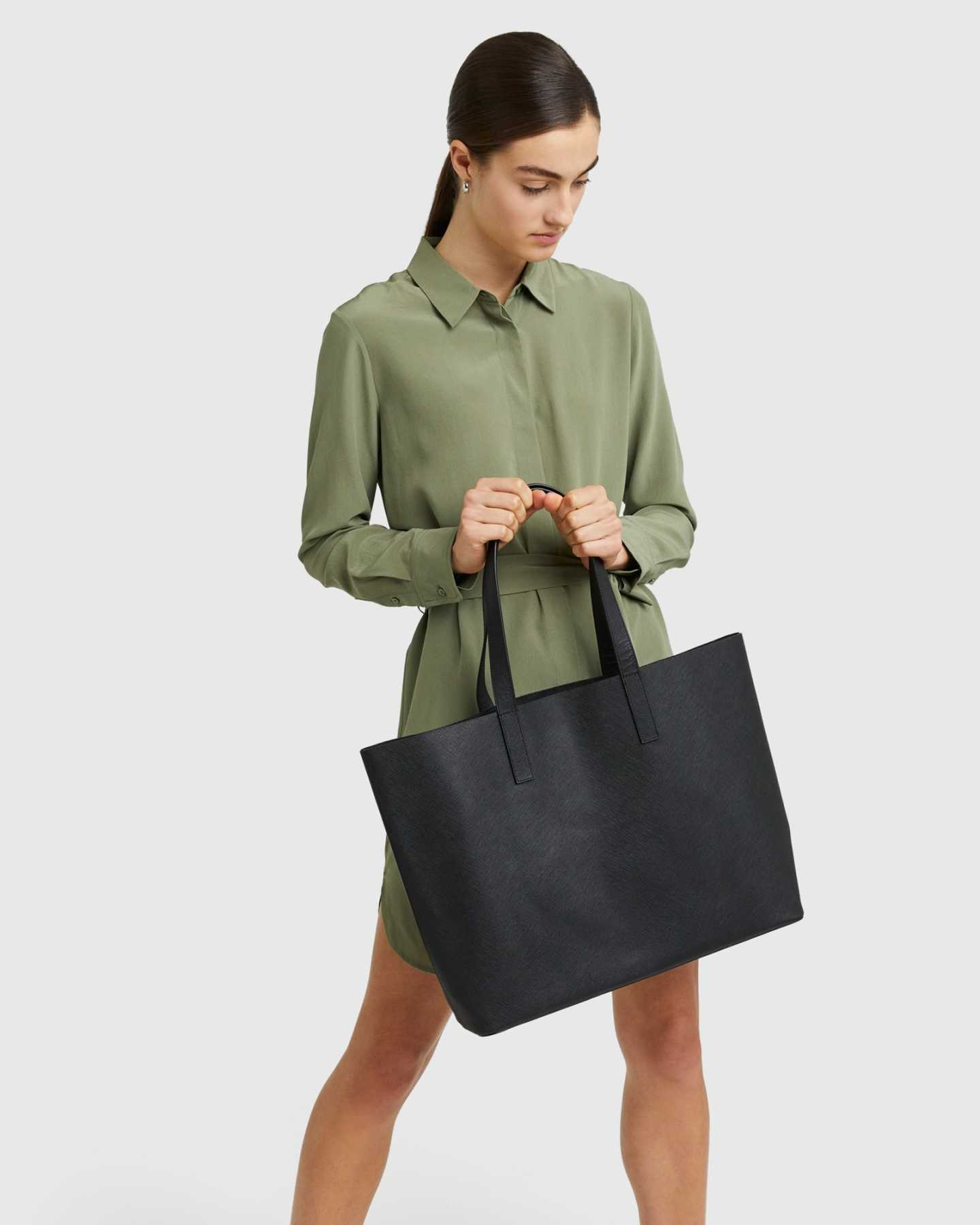 Pair With - Deconstructed Everyday Tote - Black