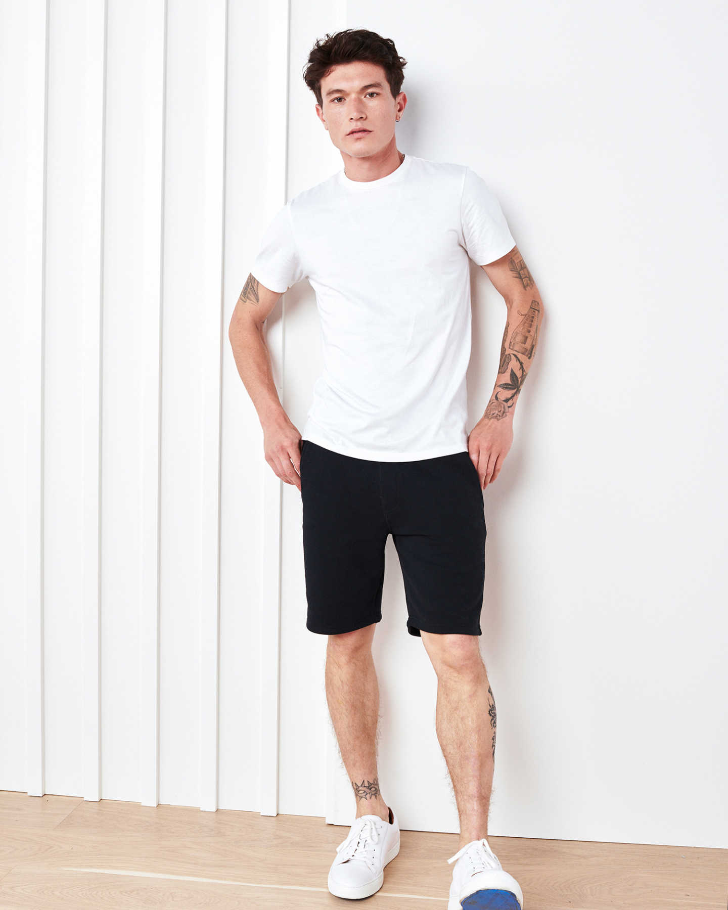 Heavyweight Organic Fleece Sweat Short - Black - 3