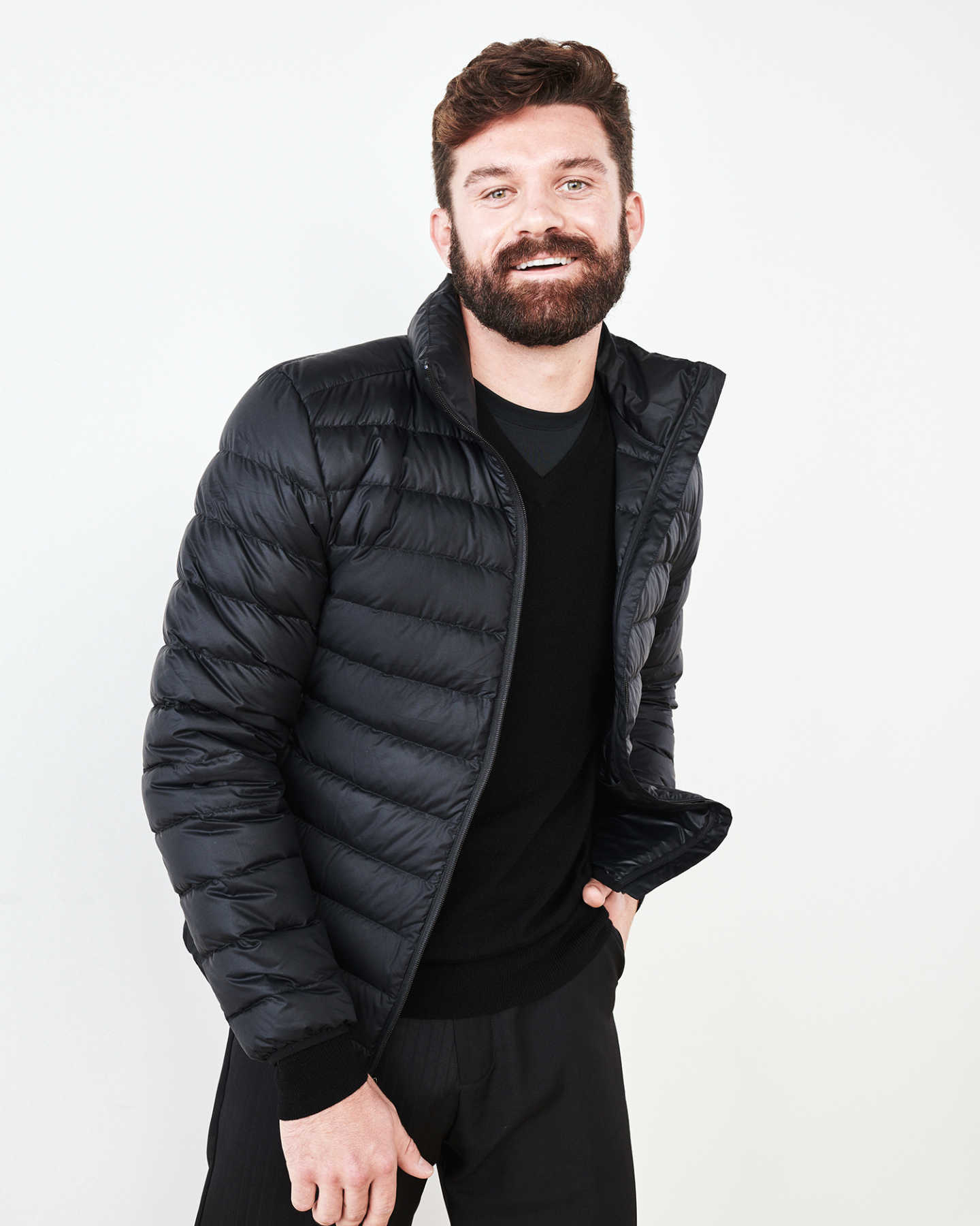 Lightweight Responsible Down Jacket - Black