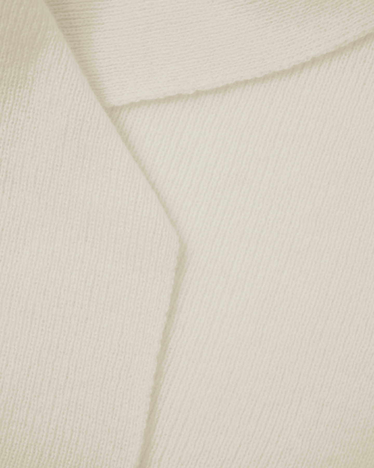 Mongolian Cashmere Scarf - Ivory - 1