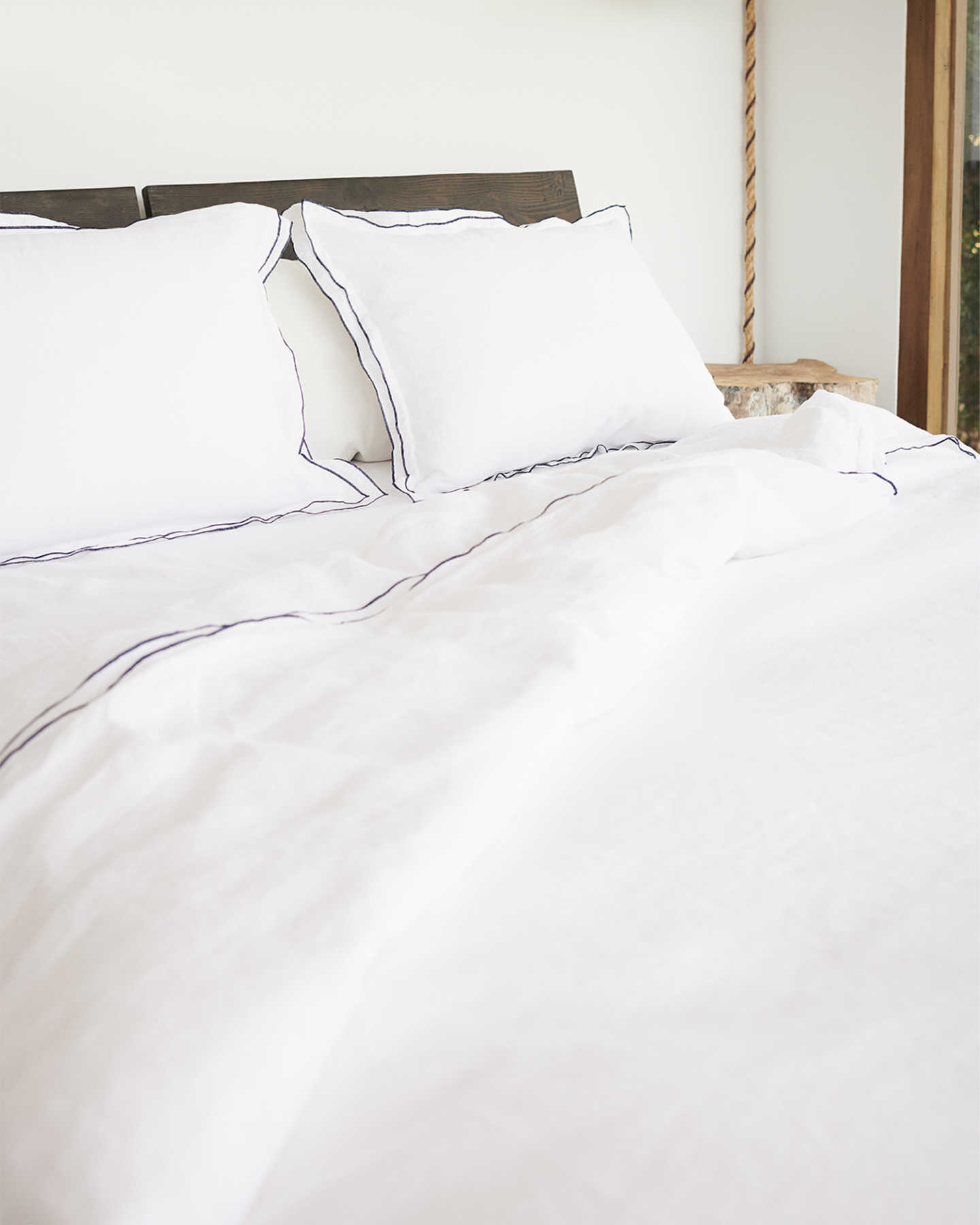 French Linen Shams Set - undefined - 3