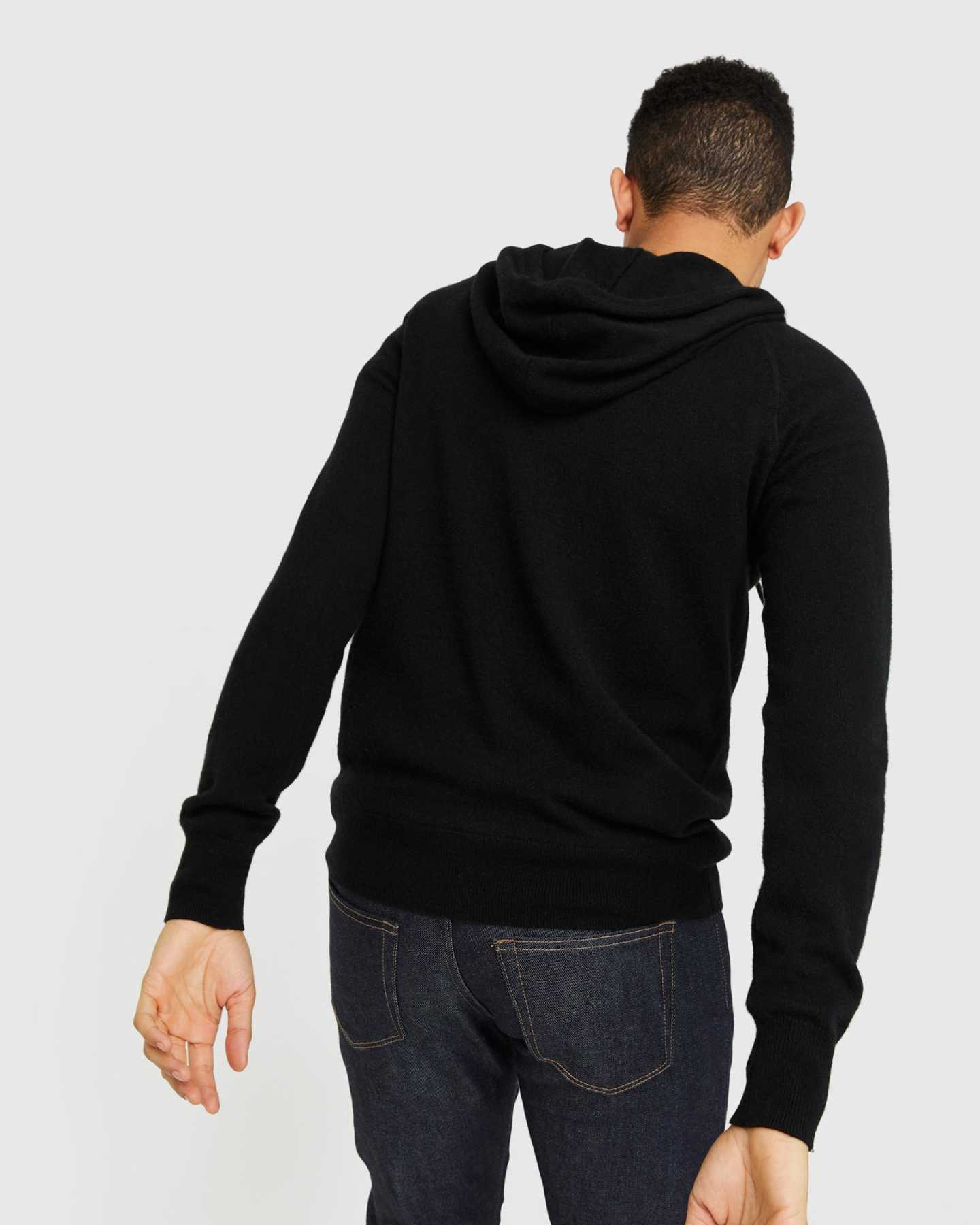 Mongolian Cashmere Pullover Hoodie - undefined - 6