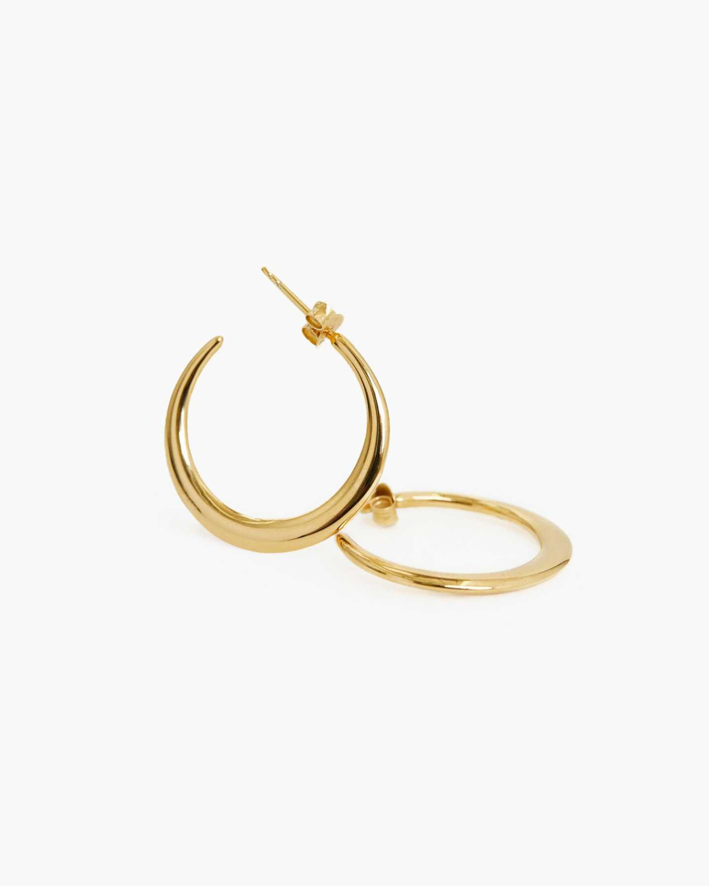 Dress Up Hoops - Gold Vermeil