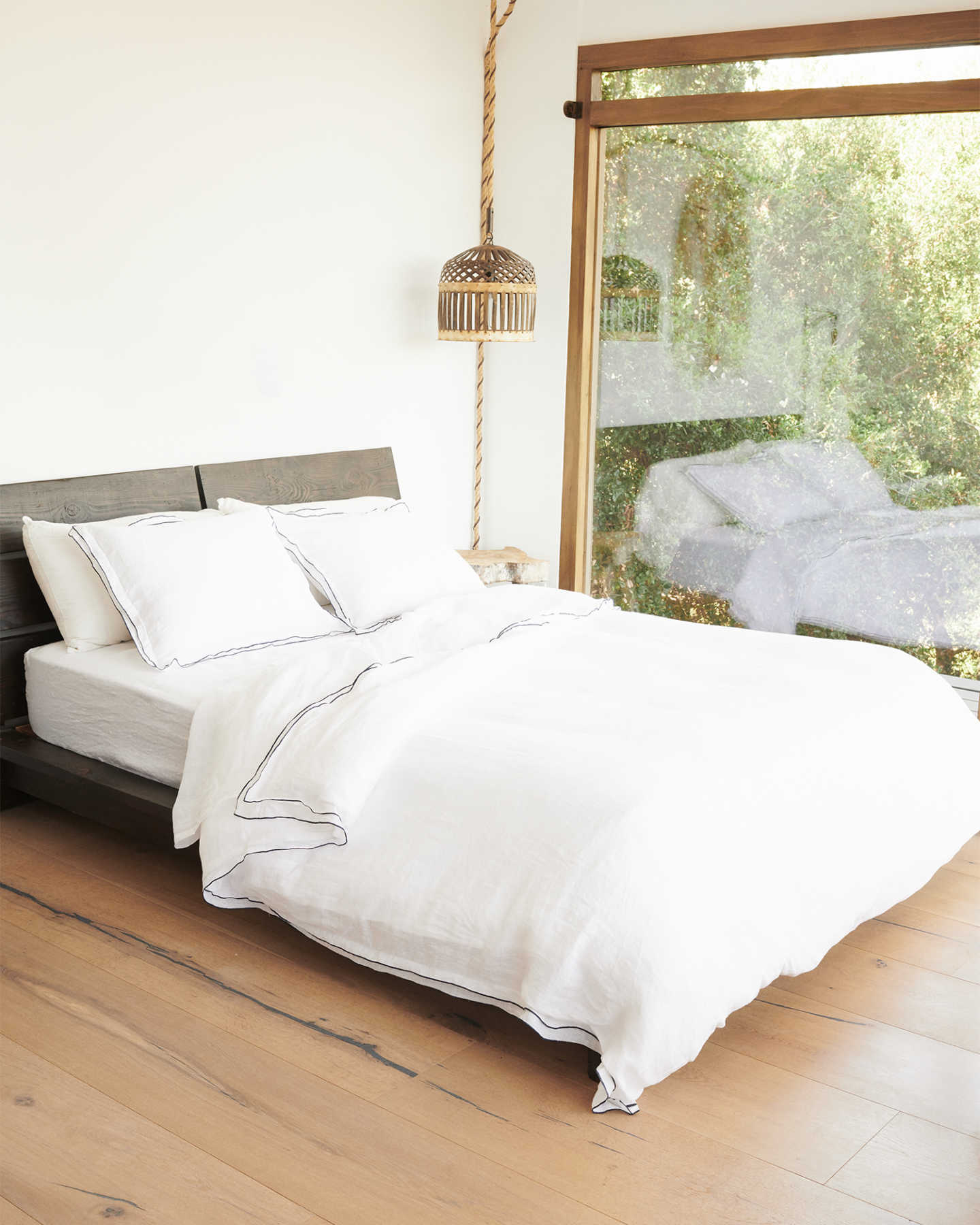 French Linen Shams Set - undefined - 4